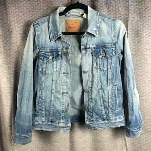 Levi's Denim Ex-Boyfriend Denim Trucker Jacket S